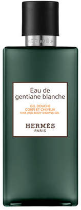 Hermes Eau de Gentiane Blanche Hair and Body Shower Gel, 6.5 oz./ 200 mL