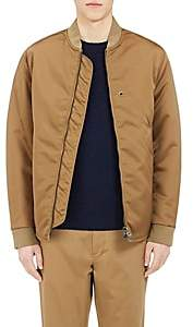 Acne Studios Men's Mylon Bomber Jacket-Olive