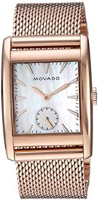 Movado Women's 'Heritage' Swiss Quartz Stainless Steel and Gold Watch(Model: 3650041)
