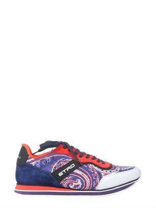 Etro Paisley Printed Running Sneakers