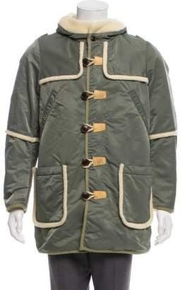 Visvim Wool-Lined Hooded Coat