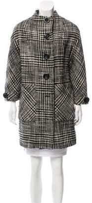 Alice + Olivia Wool Tweed Coat