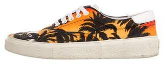 Saint Laurent Skate 20 Sunset Print Sneakers