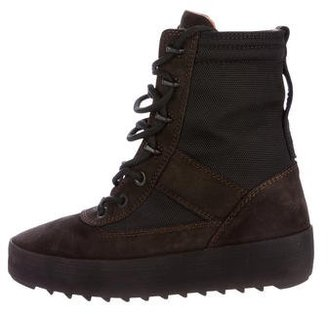 Yeezy Season 3 Military Boots $395 thestylecure.com