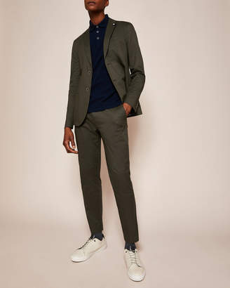 Ted Baker CLIFORD Piece-dyed cotton blazer