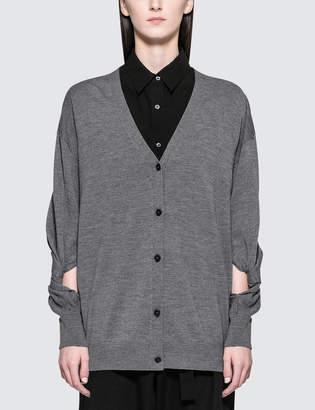 Alexander Wang Twisted Sleeve Cardigan
