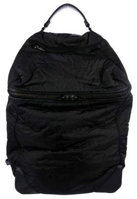 Alexander Wang Leather-Trimmed Nylon Backpack