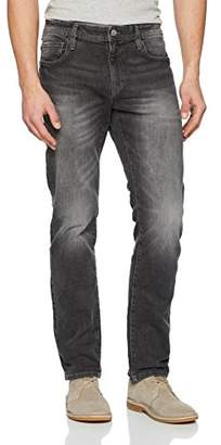 Esprit edc by Men's 028cc2b007 Straight Jeans, (Grey Dark Wash 921), W34/L32 (Size: 34/32)