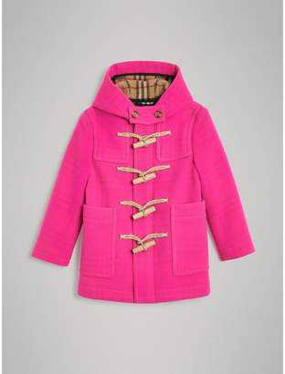 Burberry Double-faced Wool Duffle Coat , Size: 6Y