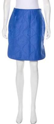 Trademark Quilted Knee-Length Skirt