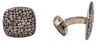 David Yurman Textured Cufflinks