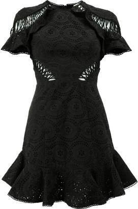 Zimmermann ruffled mini dress