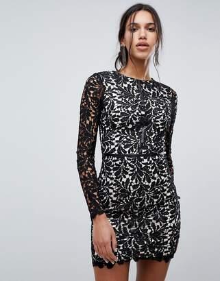 Parisian Lace Shift Dress