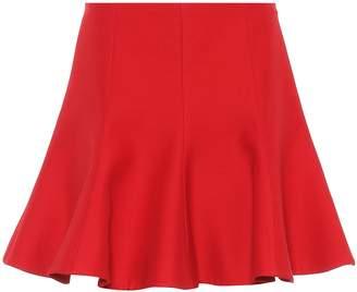 f99a9ac7c7 Valentino Wool and silk miniskirt