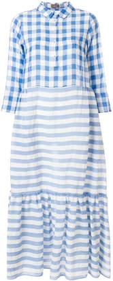 Altea check and striped dress