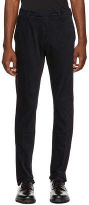 HUGO Navy Glen 184 Corduroy Trousers