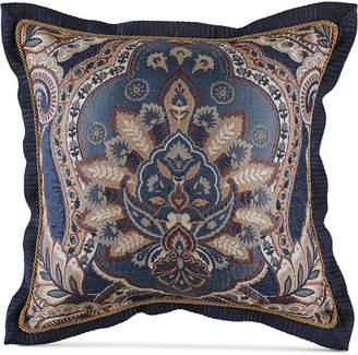 """Croscill Aurelio 18"""" x 18"""" Square Decorative Pillow"""