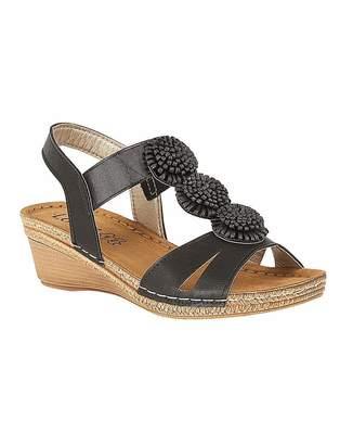 5f42880b9f Lotus Heeled Sandals For Women - ShopStyle UK