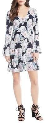 Karen Kane Taylor Flare-Sleeve Dress