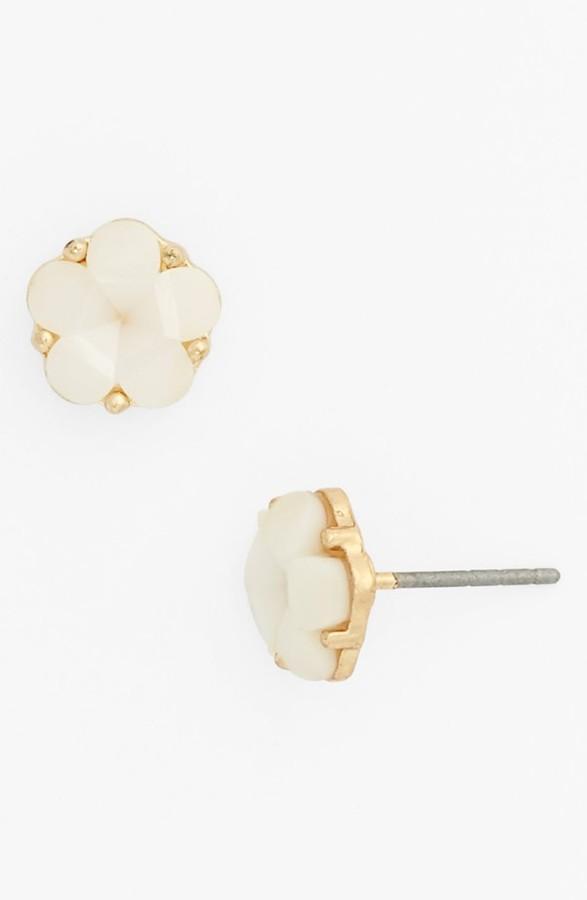 Stephan & Co Enamel Flower Stud Earrings (Juniors) (Online Only)