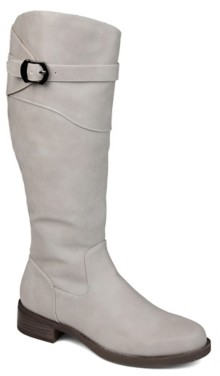 Journee Collection Brooklyn Extra Wide Calf Riding Boot