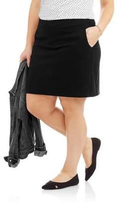 Lifestyle Attitude Women's Plus Skort