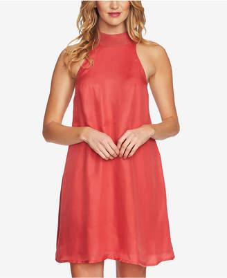 1 STATE Mock-Neck Shift Dress