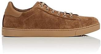 Gianvito Rossi Men's Suede Sneakers - Camel