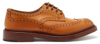Tricker's Bourton Leather Brogues - Mens - Camel