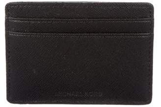 MICHAEL Michael Kors Textured Leather Card Holder