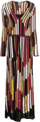 M Missoni stripe print dress