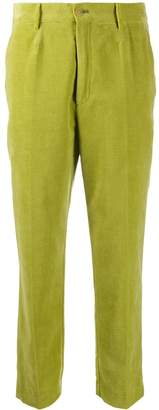 Forte Forte crushed velvet suit trousers