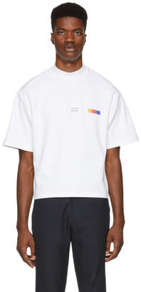 Pyer Moss White Classic Logo T-Shirt