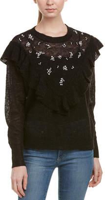 Wildfox Couture Baune Wool & Alpaca-Blend Sweater