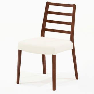 IDC OTSUKA/大塚家具 椅子 シネマ Aタイプ レッドオーク材/DDB色 PVCアイボリー