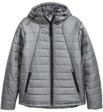 H&M Padded Sports Jacket - Gray