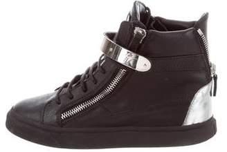 Giuseppe Zanotti May London High-Top Sneakers