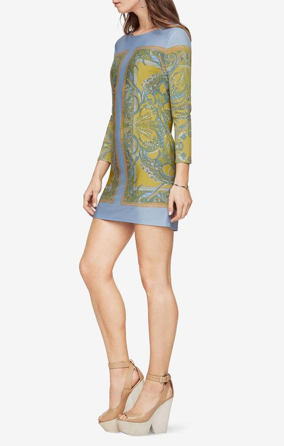 BCBGMAXAZRIANoely Paisley-Print Dress