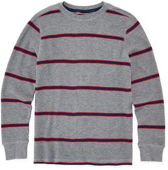 Arizona Stripe Long Sleeve Thermal Boys 4-20