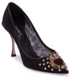 Dolce & Gabbana Heart Slip-On Pumps