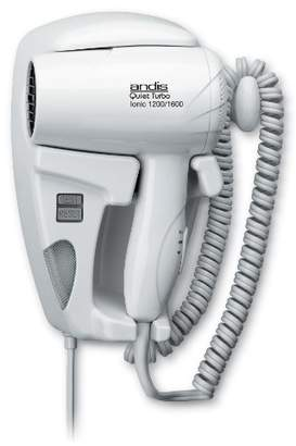 Andis 1600-Watt Quiet Wall Mounted Hangup Hair Dryer with Night Light