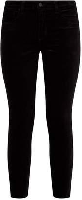 L'Agence Margot Velveteen Skinny Jeans