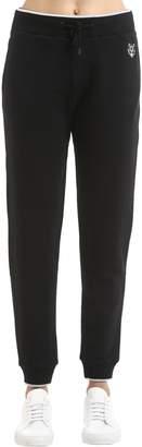 Kenzo Tiger Patch Cotton Sweatpants