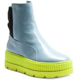 FENTY PUMA by Rihanna Leather Chelsea Sneaker Boots
