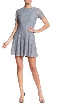 HYFVE Lace Short Sleeve Dress
