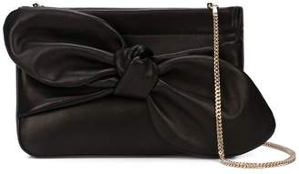 Loeffler Randall Cecily bow-detail clutch