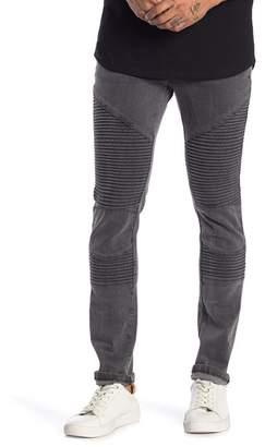 nANA jUDY Moto Skinny Jeans