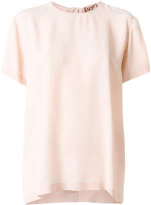 No.21 tie-back blouse