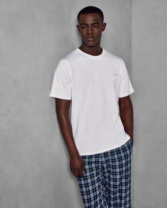 Ted Baker DETINER CHECK LOUNGE TROUSER AND TEE