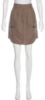 Brunello Cucinelli A-Line Knee-Length Skirt